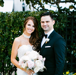 Olea & Andrew's Stunning Gold and Black Wedding